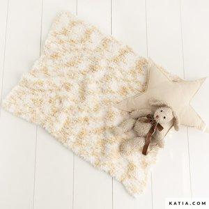 Polar Animal Print - breipakket babydeken