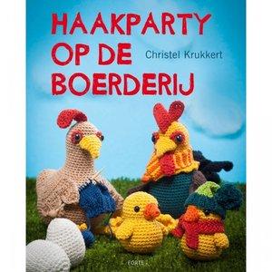 Haakpartij op de boerderij - Christel Krukkert