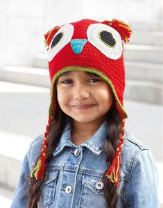 Kid's Cap Owl 70 Rood