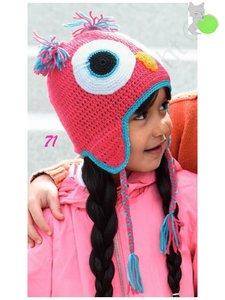 Kid's Cap Owl 71 Rosé