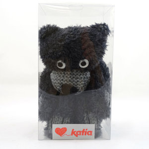 Teddy Bear Scarf 50 Donkergrijs