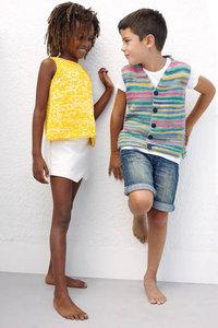Duo Cotton - zomertopje voor meisjes