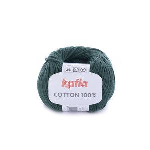 Cotton 100% - 58 Donkergroen