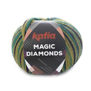 Magic Diamonds 57 Groen-donkerblauw